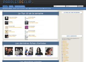 parolesdeclip.fr
