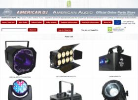 parts.americandj.com