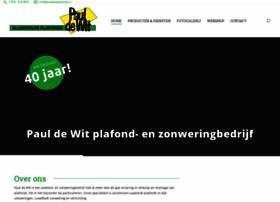 pauldewitplafonds.nl