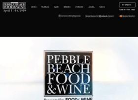 pebblebeachfoodandwine.com