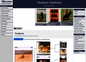 pedigreedatabase.com