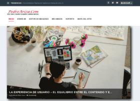 pedroariza.com