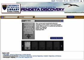 Pendeta.um.edu.my