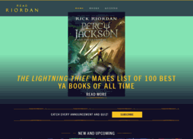 percyjacksonbooks.com