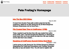 petefreitag.com