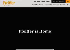 pfeiffer.edu
