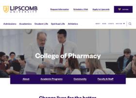 pharmacy.lipscomb.edu