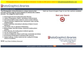 photographiclibraries.com