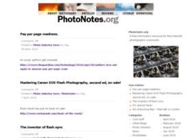 photonotes.org
