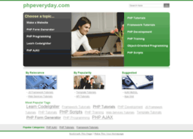 phpeveryday.com