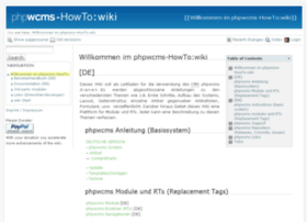 Phpwcms-howto.de