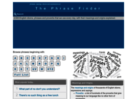 phrases.org.uk