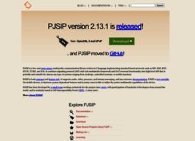 pjsip.org