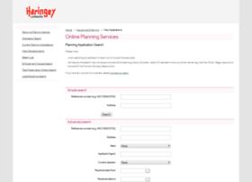 planningservices.haringey.gov.uk