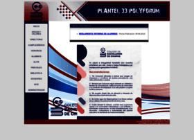 Plantel33.cobach.edu.mx
