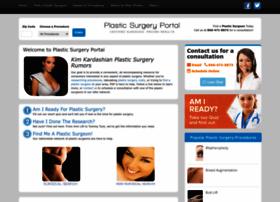 plasticsurgeryportal.com