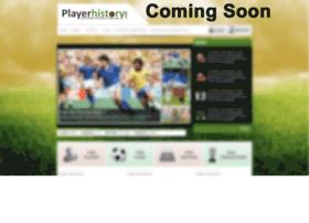 playerhistory.com