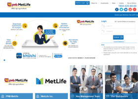 Pnbmetsmart.metlifeportal.co.in