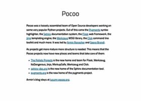 Pocoo.org
