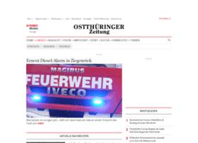 poessneck.thueringer-allgemeine.de