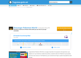 pokemon-world.programas-gratis.net
