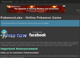 pokemonlake.com