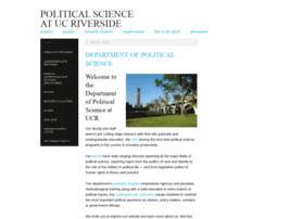 politicalscience.ucr.edu