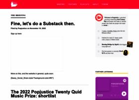 popjustice.com