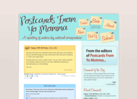 postcardsfromyomomma.com