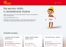 postovnisporitelna.cz