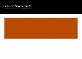 powerblogservice.com