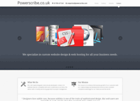 powerscribe.co.uk