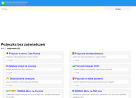 pozyczka-bez-zaswiadczen.pl
