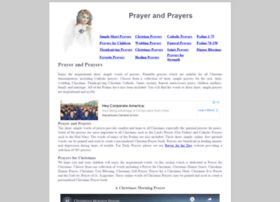 prayer-and-prayers.info