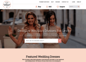 preownedweddingdresses.com