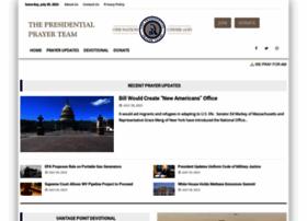 presidentialprayerteam.org