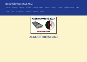 pressealgerienne.com