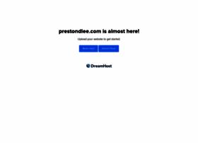 Prestondlee.com