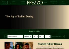 prezzorestaurants.co.uk