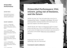 primordialperformance.com
