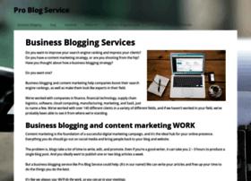 problogservice.com