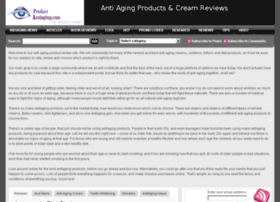 productantiaging.com