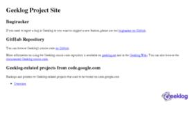 project.geeklog.net