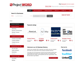 projectword.co.uk