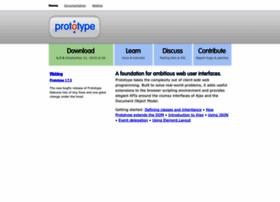 prototypejs.org
