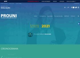 prouniportal.mec.gov.br