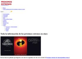 proximosestrenos.com.ar