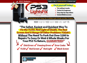 Ps3lightsfix.com