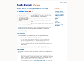 publicdomainsherpa.com
