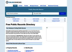 publicrecords.onlinesearches.com